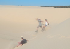 Fun On the dunes