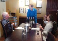 Wine tasting at Ormonde Wine Estate